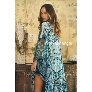 NWT Free People Keeping Up with the Kimono OS